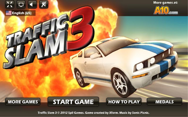 Click  to play Traffic Slam 3