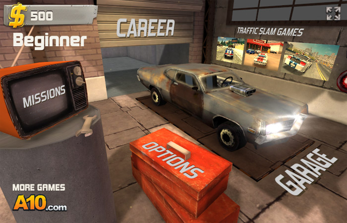 Click to play Traffic Slam Arena